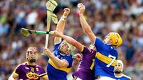 Tipp prevail with one of the great displays of on-field guts