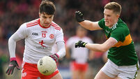 Second Tyrone forward leaves panel over game time