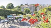 Ballycotton on crest of a property wave