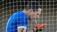 46-year-old keeper relishing 'madness' of late late call-up
