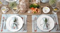 All set: Impress your Easter guests with experimental table settings
