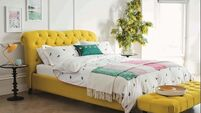 Wish List: Mellow yellow in the bedroom and beyond