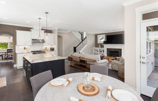 Kitchen island units feature prominently on Irish househunters' wish lists.