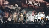 Review: Rod Stewart rocks Leeside with high energy entertainment