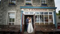 Wedding of the week: Aoife and Finbarr's love is true Blue