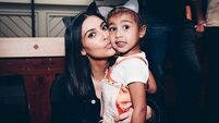 The strange moment when Kim Kardashian tried to explain to North West why she was famous