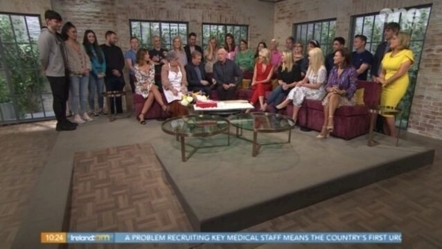 Emotional scenes as Mark Cagney takes his final bow on Ireland AM