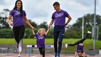 Track and play: Olympians Marian and Rob Heffernan on importance of keeping kids active