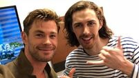Chris Hemsworth says Hozier is one of his favourite musicians