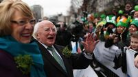 Dublin St Patrick's Day parade wows spectators