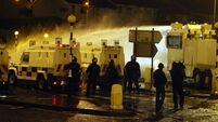 Officers injured in Belfast riots