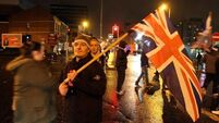 Four PSNI officers injured in flag riots