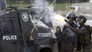 Two Palestinians shot in clashes