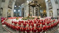 Cardinals meet for fifth time to select new pope