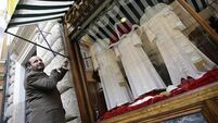 Tailor has clothes ready for new pope