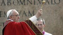 Pope opens Holy Week on Palm Sunday