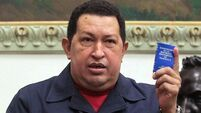 Chavez receives chemotherapy in 'battle for life'