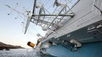 Singer recalls cruise ship trauma