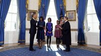 Obama sworn in as US President