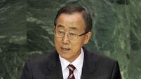 UN chief warns Syria against using chemical weapons