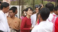 Suu Kyi sweater sold for $50k