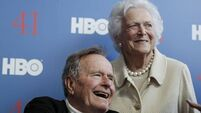 Bush moves out of intensive care