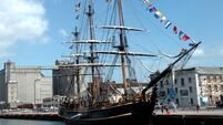 Two crew missing from abandoned HMS Bounty