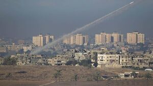 Gaza militants fire rockets into Israel as Egyptian PM visits