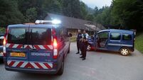 Four-year-old survivor of Alps killings speaks to police