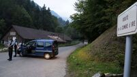 Girl, four, found alive in Alps murder car
