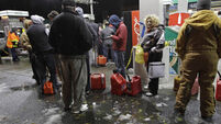 New York rations fuel after Superstorm Sandy