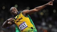 Bolt to defend sprint titles in Rio