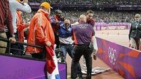 Olympic bottle-thrower gets eight weeks community service