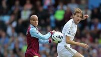 Villa return to winning ways against Swansea