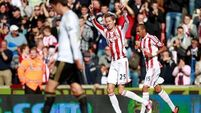 Two-goal Crouch seals win for Stoke