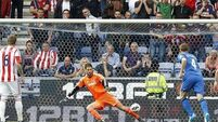 Crouch grabs late point for Stoke