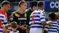 QPR's Ferdinand leaves off Kick it Out t-shirt