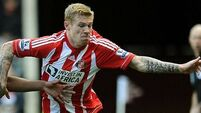 McClean starts for Black Cats
