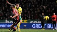 Norwich survive second-half Sunderland onslaught