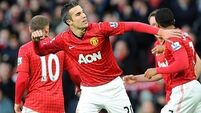 Victory keeps United top for Christmas