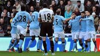Toure stars for City