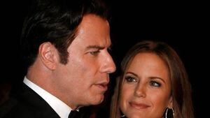 Travolta and Preston appear at Scientology event