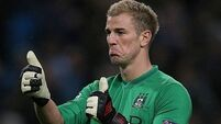 Man City rest Joe Hart