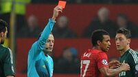 Night of drama and controversy at Old Trafford