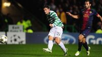 Watt missing for Celtic's clash against Juve