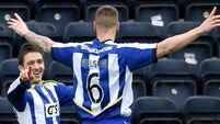 Heffernan hat-trick secures points for Killie