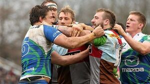 Westerners go down to big defeat in tempestuous game