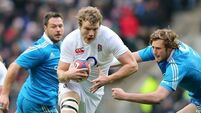 Launchbury to start for England against Wales