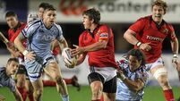Munster scrape win in the Arms Park