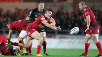 Scrappy Scarlets win encounter against Dragons